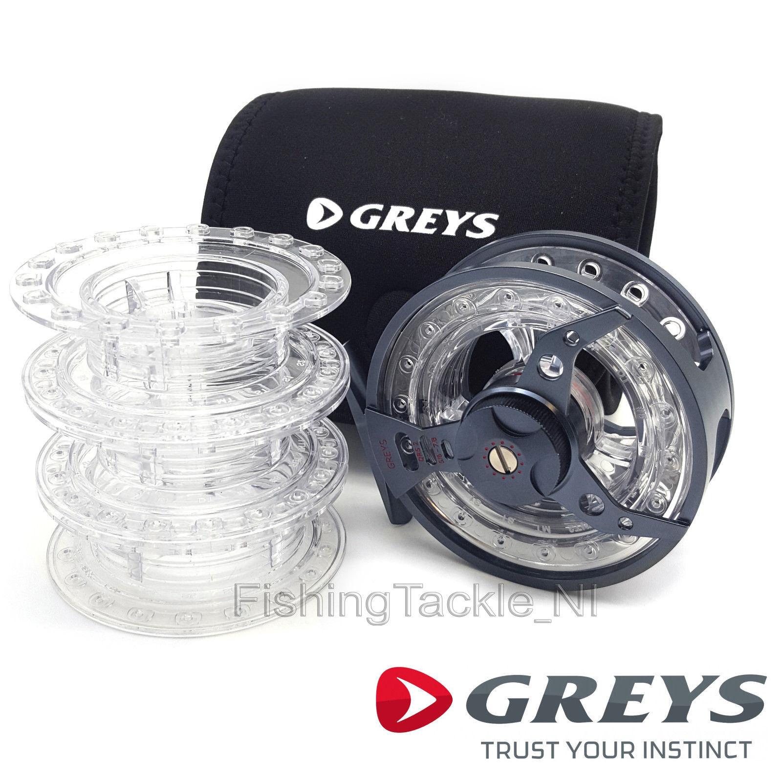 Quad Rating System Fly Fishing Reel Greys QRS 9//10 11//12