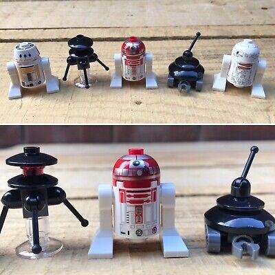 GENUINE LEGO STAR WARS MINIFIGURES TOYS R5-F7 R4-P17 DROIDS BUNDLE COLLECTION