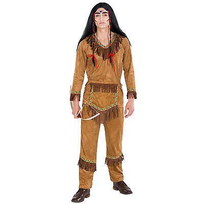 Herrenkostüm Indianer Häuptling Wilder Westen Fasching Apache Western -