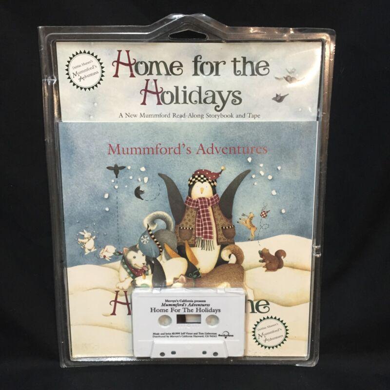 Mummford's Adventures Home For The Holidays Debbie Mumm Book Cassette Tape Set