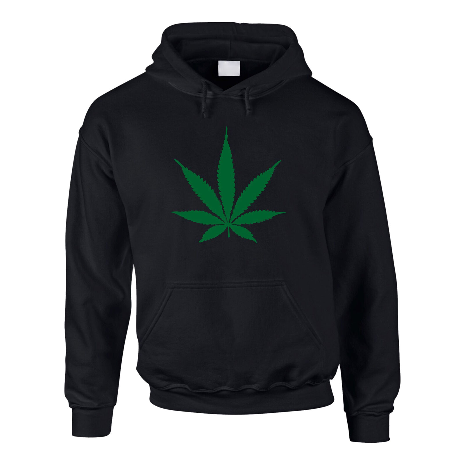 Hoodie Hanfblatt Weed Leaf Kapuzenpullover Hanf Sweater Cannabis XS-5XL