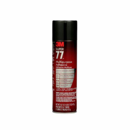 3M Multi Purpose Spray Adhesive Super 77 16.75 fl. oz. DIY Home Craft Supply