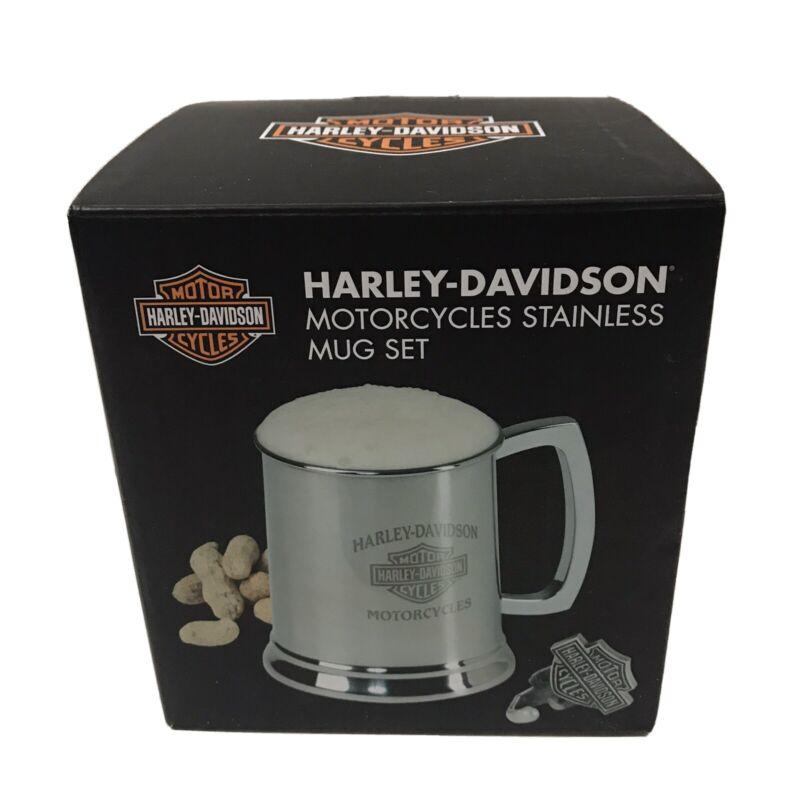 Harley-Davidson Motorcycles Stainless Mug Set NEW