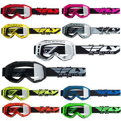 Fly Racing 2019 Focus Goggles Adult MX ATV Dirtbike -