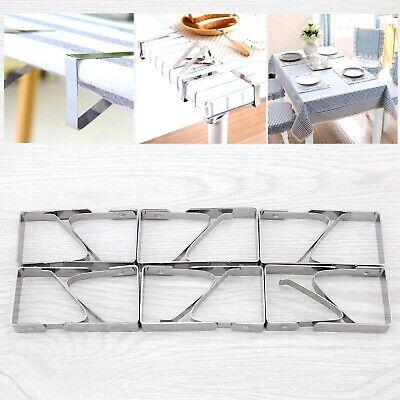 12 Stücke Outdoor Tischdeckenklammern Tischtuch Klammer Tischdeckenklammer