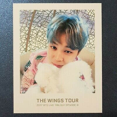 JiMin - BTS The WINGS TOUR Official Ticket Album Photo
