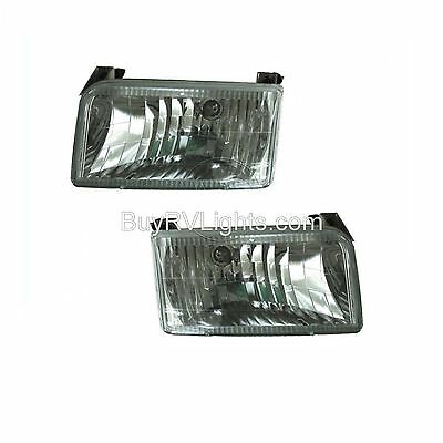 COACHMEN CATALINA 1996 1997 CRYSTAL PAIR HEADLIGHTS HEAD LIGHTS FRONT LAMPS RV