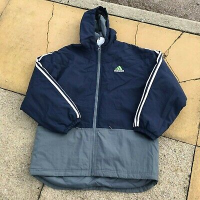 ADIDAS EQUIPMENT VINTAGE MEN'S HOODED JACKET USED SIZE L LARGE LARGE SPELL OUT