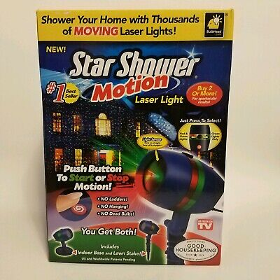 NEW Star Shower As Seen on TV Motion Laser Lights Star Projector by