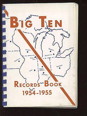 1954/55 Big Ten NCAA Sports Record Book -