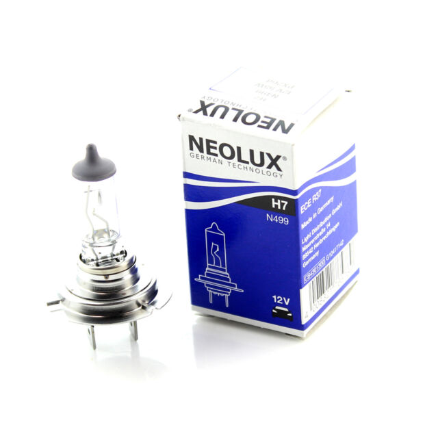 1x Neolux 12v 'Trade' H7 499 55w PX26d Head lamp Head light Hi Lo Fog Beam Bulb