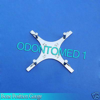 Dental Bracket Positioning Star Boone Gauge Orthodontic Instruments