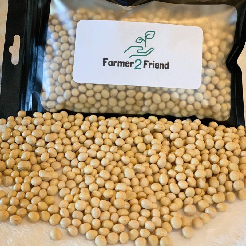 USDA CERTIFIED ORGANIC SOYBEANS Non-GMO Soybeans Free Shipping Tempeh Tofu