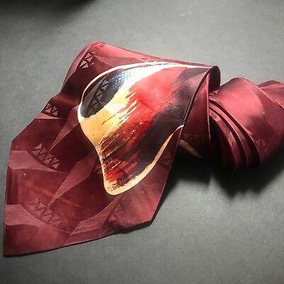 1940s Mens Ties | Wide Ties & Painted Ties 1940'S 40's Multitones by RAXON Swing Vintage Necktie Sweet Cravats $34.49 AT vintagedancer.com