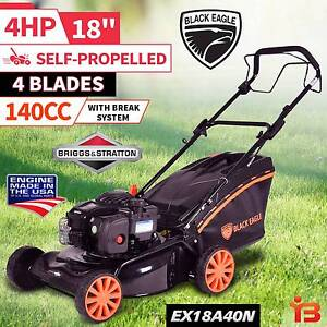 """18"""" Self Propelled 140cc 4Stroke Lawn Mower with Height Adjusting Fairfield Fairfield Area Preview"""