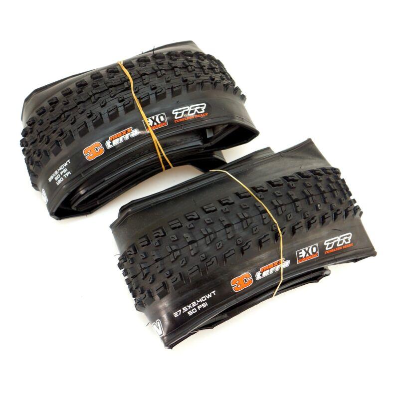 Maxxis Rekon TR 29 / 27.5 x 2.4 MTB Mountain Bike Tire Tubeless Ready TLR Black