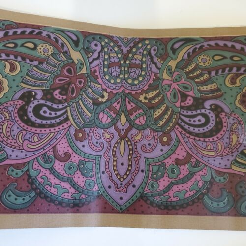 Victorian Paisley Art Deco Wall Paper Border GKS 125 5 Rolls