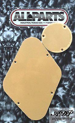 Les Paul Style Guitar - Backplate Creme pour cavité controle electro guitare style Gibson Les Paul Cream