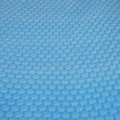 Pool-Abdeckung Wärmeplane Solarplane, blau, Stärke: 200 µm, rechteckig, 8x4 m