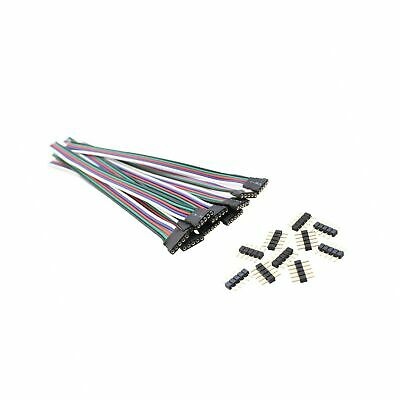 5 Pin RGBW Led Connector Extension Wire with 5 Pin Conenctor, SIM&NAT 15 cm /...