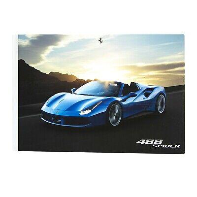 Ferrari 488 Spider Brochure