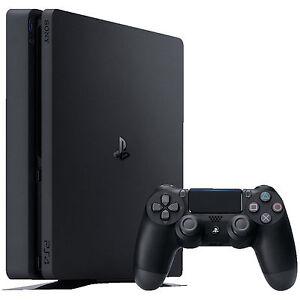 SONY-PlayStation-4-Slim-500GB-PS4-Neustes-Modell-CUH-2016-A-NEU-OVP-Schwarz-8GB