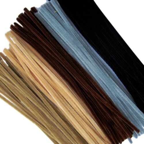 Pipe Cleaners Jumbo 300 mm x 6 mm Pack size 50 Multi-Cultural