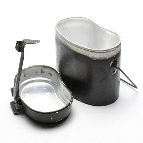 Genuine Romanian Army mess kit. Aluminium military bowler pot