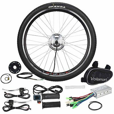 """36V 250W Electric Bicycle Motor Kit Speed E Bike Conversion 26"""" Front Wheel"""