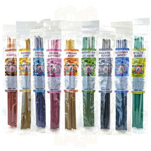 "BluntEffects Incense Sticks Air Freshener, 11"", Buy 3 Get 6 Free, YOU CHOOSE"