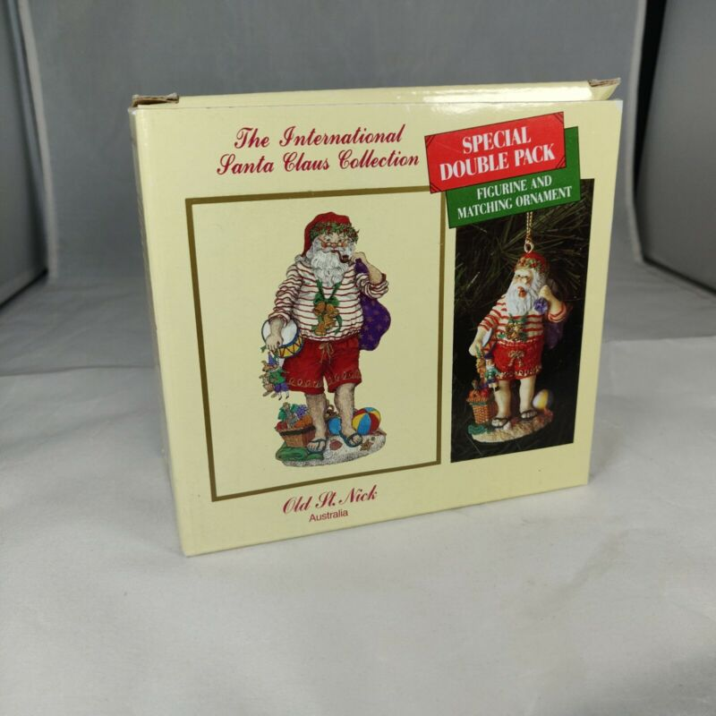 International Santa Claus Collection ~ Old St Nick Australia ~ Figurine Ornament