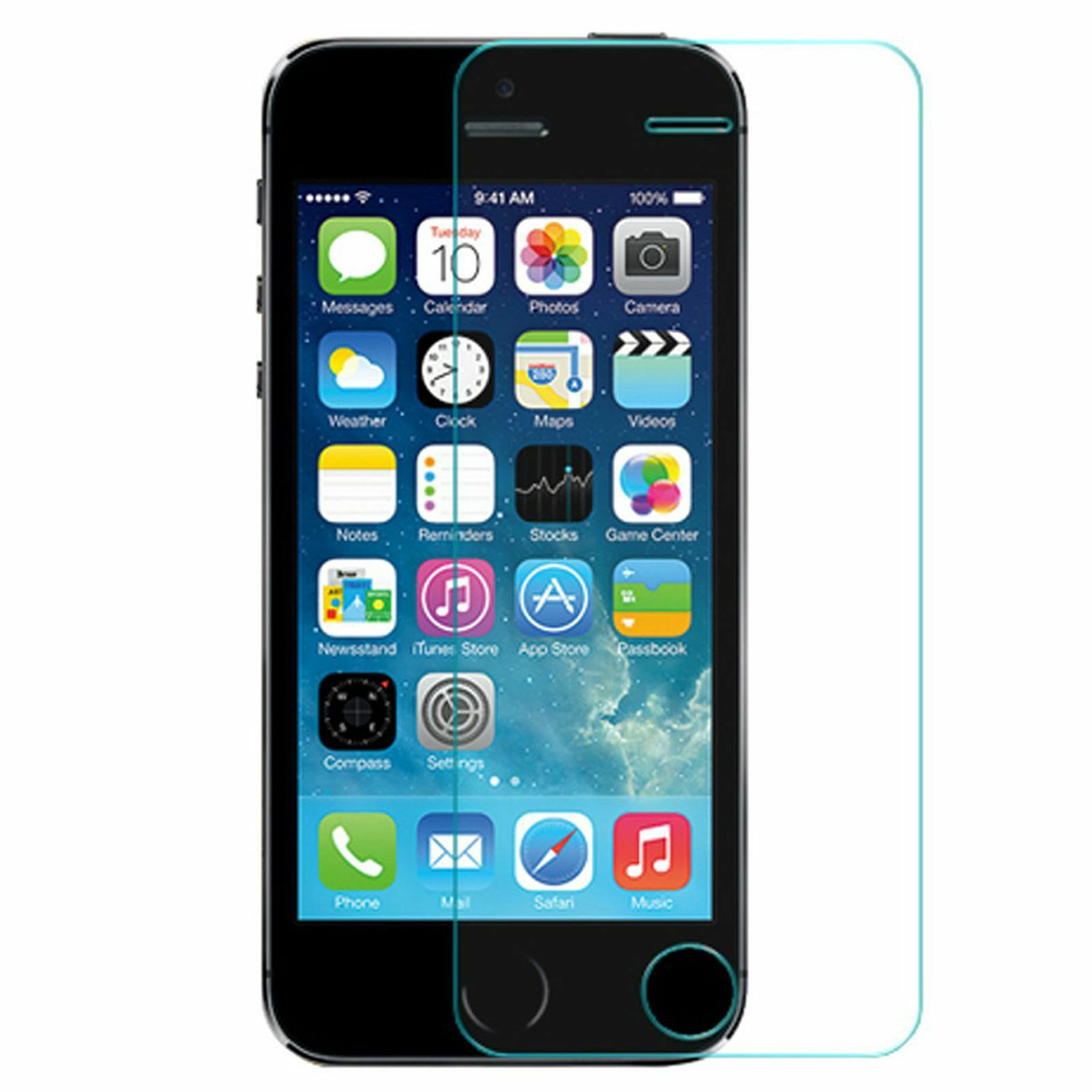 Premium Real Tempered Glass Screen Protector Film For iPhone 6/6s & X 7/8 8 Plus