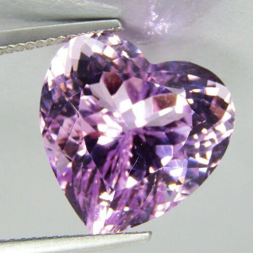 16.80Cts Natural Unique Hot Pink Kunzite Nice Heart Shape Collection Gem REF VDO