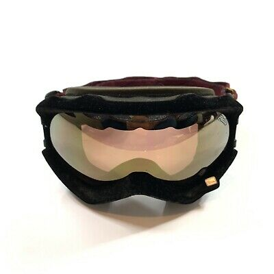 675edefb8cf Scott Circa 1958 ACS Adjustable Snowboard Ski Dirt Bike ATV Suede Goggles
