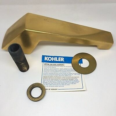 Deck Mount Diverter - Kohler K-6940 Alterna Deck Mount Roman Non-Diverter Bath Spout w/Faucet
