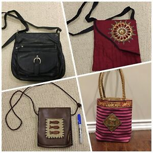 Assorted purses / handbags -prices as marked