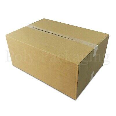 15 x Maximum Size DEEP ROYAL MAIL SMALL PARCEL 349x249x159mm Postal Boxes