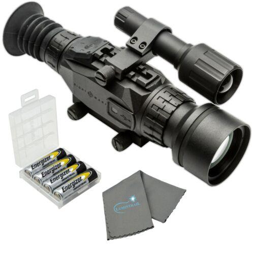Sightmark Wraith HD 4-32x50 Digital Riflescope with 4 AA