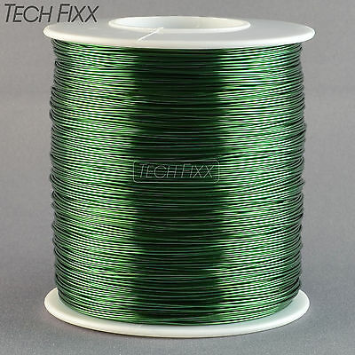 Magnet Wire 22 Gauge Awg Enameled Copper 500 Feet Coil Winding 155c Green