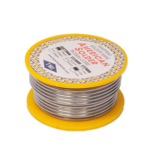 60/40 Tin/Lead Flux 2.0% 2mm rosin flux solder wire Roll (100 gms)