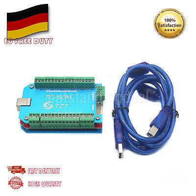 CNC USB MACH3 6 Axis 50KHz Motion Control Board Driver Controller Card DE Axis Motion Controller