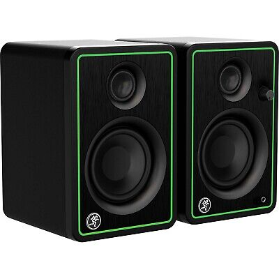"Mackie CR3-X 3"" Active Powered Studio Recording Monitor Speakers Pair"