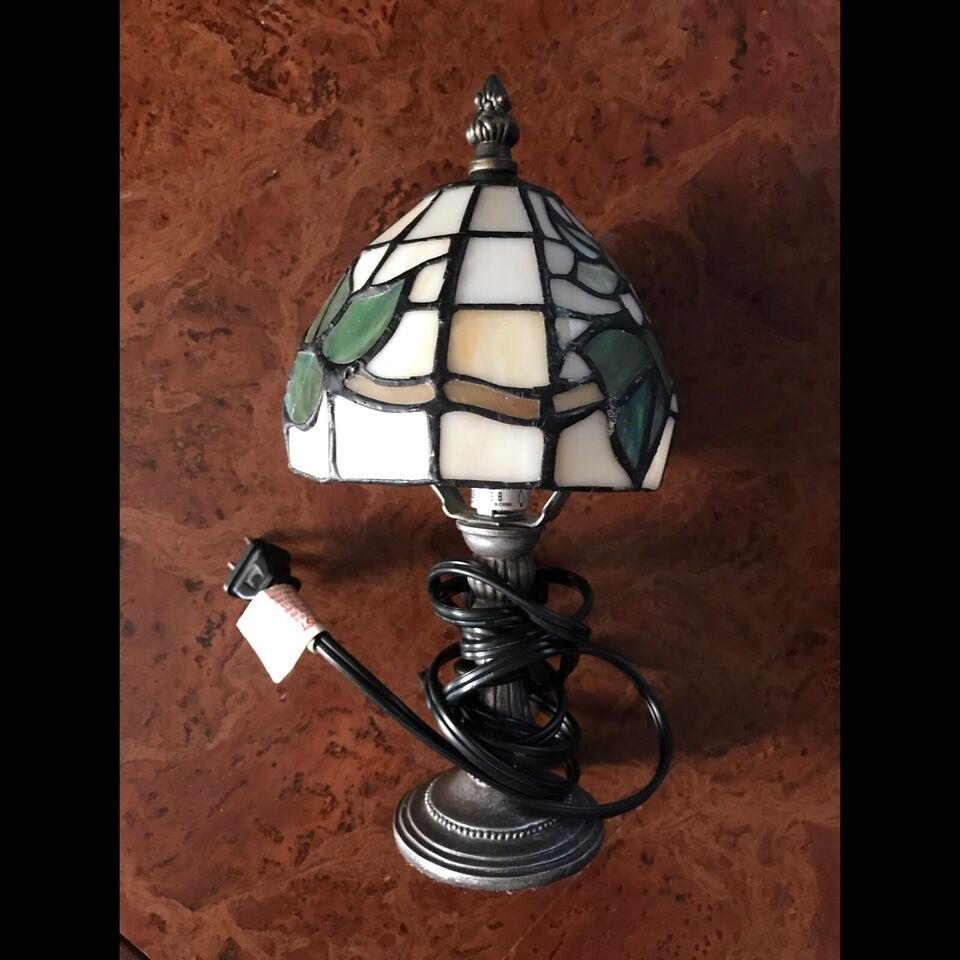 Small Stained Glass Lamp Indoor Lighting Fans Red Deer Kijiji