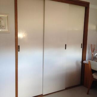 Wardrobe Sliding Doors with Complete Fittings and Tracks - 2 Sets & 2040 sliding door | Home u0026 Garden | Gumtree Australia Free Local ...