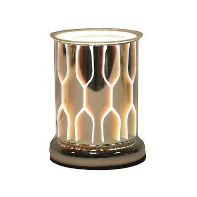 Aroma Accessories Geo Cilindro 3D Toque Eléctrico Mezcla Calentador