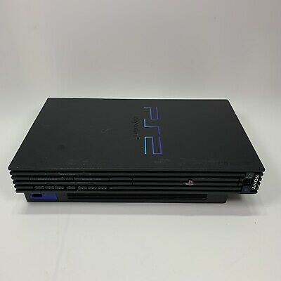 Sony PlayStation 2 Fat Black PS2 Console SCPH-50001 Tested Console Only