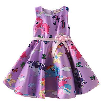 Girls  Kids My Little Pony Butterfly Pink Puple Party Birthday Fancy Dress - Butterfly Costume For Girls