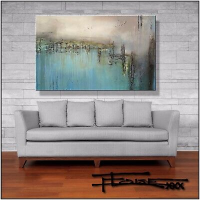 Abstract MODERN Painting Canvas Wall Art Large Framed US ELOISExxx