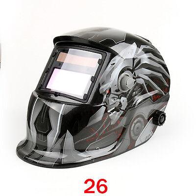 Solar Auto Darkening Welding Helmet Tig Mig Welder Lens Grinding Mask 26 Us