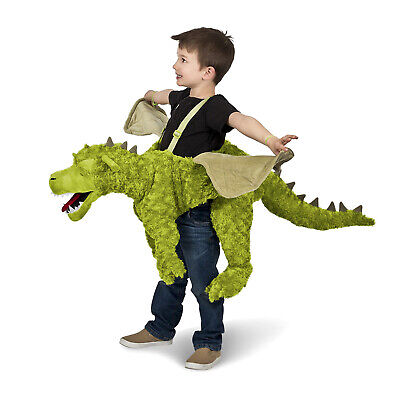 Toddler Green Ride-In Dragon Costume Plush Boys Girls Fantasy Game of Thrones (Costumes In Game Of Thrones)